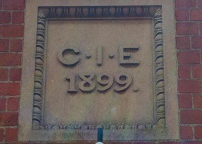 Dedication to Caroline Isabel Eyres at Dumbleton Village Hall